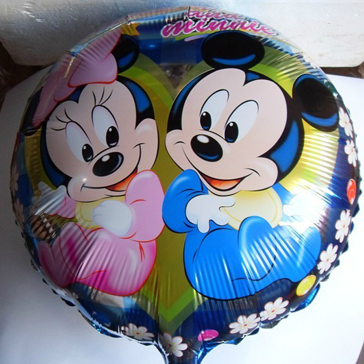 Happy Birthday Balloons Quot Happy Birthday Quot Baby Girl Party Balloons Mickey Amp Minnie Mouse Boy Girls