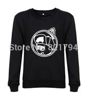 2014 new fashion men/women sweatshirts Trukfit Martian hoodies animal funny casual fashion 100% cotton design print fleece
