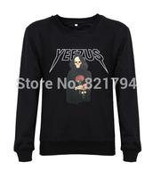 2014 top fashion men/women sweatshirts Yeezus Tour Music fans Mens O-neck  hoodies hoddes custom design print cotton fleece