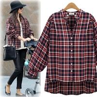 8202 2014 plaid shirt outerwear