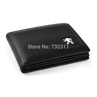 Car emblem 100% Leather Driver's license leather sheath / Driving License Bag for Peugeot 308 408 508 3008 207 307 206