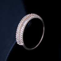 AAA+ ZirconRings for Women Wedding Ring Big Crystal Jewelry Engagement Rings O Wedding Bands  Square The Ring New 2014