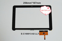 """10.1"""" inch Touch Screen Panel for QSD E-C100013-02 LLT Capacitive Touch Panel Digitizer Free Shipping"""