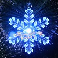 Christmas decorations LED lampion Christmas snowflake pendant christmas decoration SD0013