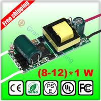 85-265V Input for E27 GU10 E14 Led Driver 8-12W 8W 9W 10W 11W 12W Lamp Driver Power Supply Lighting Transformers