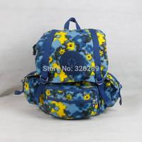 2014 free shipping  kip backpack  women travel bag Nylon backpack famous brand bags 15057
