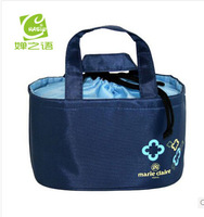 free shiping Lunch Bags Thermal Insulated Neoprene lunch Bag For Women Kids Food Bag Tote Cooler lunch box  lunchboxes