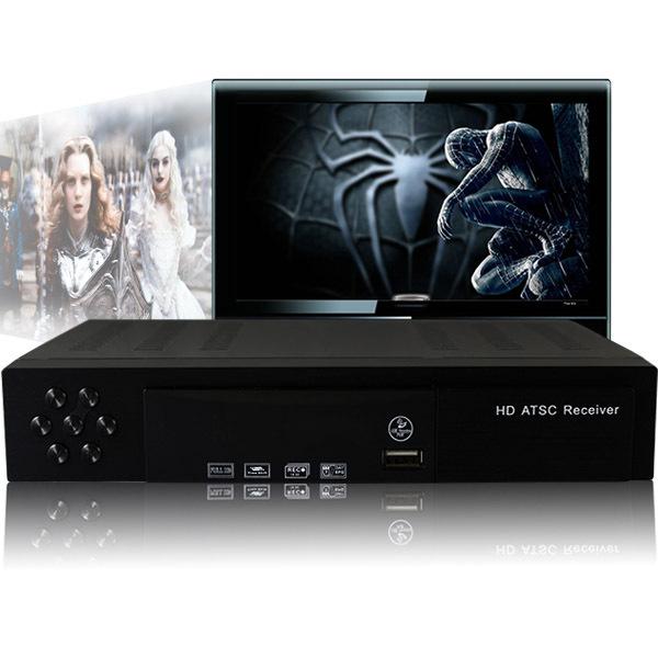Mexico USA Canada QAM Digital Broadcast ATSC HD TV Box Receiver(China (Mainland))