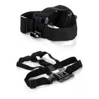 Adjustable Head + Chest Harness Strap Mount Accessories For Gopro HD Hero 2/3/3+