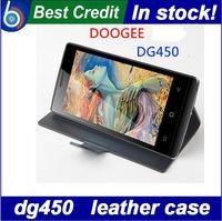 in stock doogee dg450  leather case doogee dg450 pouch case PU flip case for doogee dg450/Eva