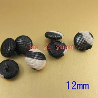 200 /lot Apparel accessories garment accessories wholesale cloth buttons 12mm imitation snake