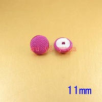 200 /lot cloth button Apparel accessories garment accessories wholesale 11mm Rose Red