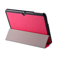 Slim Magnetic Tri-Fold PU Leather Case Cover For Samsung Galaxy Tab S 10.5 T800 T805 + Film + Stylus