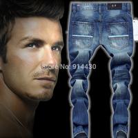 Man Jeans Pants, Designer Mens Jeans, Men Denim Brand Trousers Straight Style