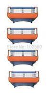 hot sale FP4 model men razor blade best price original package razor blades for men 4pcs/pack  free shipping