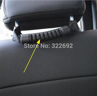 2 pc x Rear Seats Grab Handle Kits Black Nylon Universal Car For Jeep Wrangler -  Free Shipping
