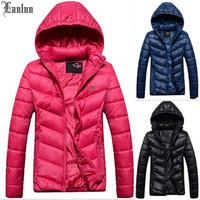 Lanluu Top Selling Brand Thicken Winter Down Cotton Coats Plus Size Women Sport Parkas Overcoat SQ869