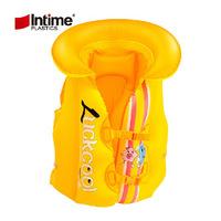 Intime children's lifejacket cartoon swimsuit child inflatable vest