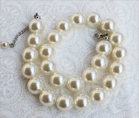 wholesale 10 pcs/lot 2014 new fashion baby girl pearl jewelry necklace very nice necklace super big pearl necklace all match