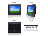 15.0  inch D525  fanless touch screen all in one panel pc