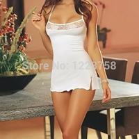 A5 Free shipping Women's Lace Lingerie Dress Babydoll Sleepwear Underwear G-string Nightwear I8078 P