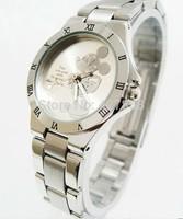 Women Quartz Watch fashion mickey Watch Ladies steel Watch C087L Free shipping