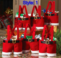 Wholesale snowman candy bag Christmas gift Christmas decorations candy bag good quality 15pcs/lot mixed style free shipping