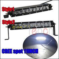 2X Cree 11inch 50W Spot Led Light Lamp Bar Offroad SUV Truck 4x4 Kill 120W 30W