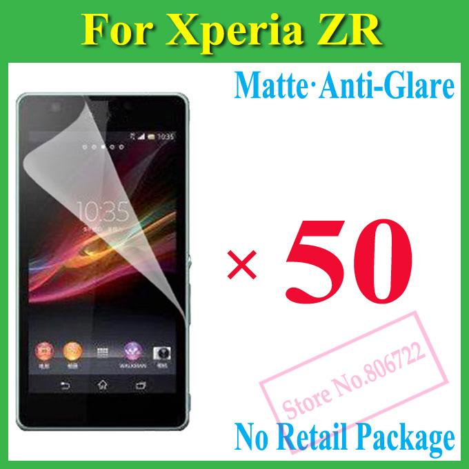 Защитная пленка для мобильных телефонов Sony Xperia ZR M36H C5502 C5503, + 50pcs защитная пленка для мобильных телефонов hd sony xperia zr m36h