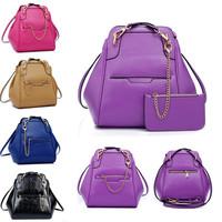 Casual Bolsas Vintage Women Bags Fashion Casual Women Shoulder Bags Large Capacity Genuine Leather Backpacks Brand Travel Bag