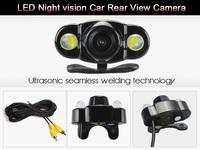 LED Night Version 170 Degree wide viewing angle car reverse camera Backup car rear view camera