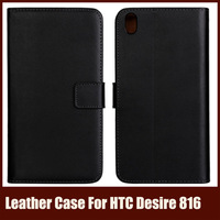Phone Bag For HTC Desire 816 With Wallet Card Holder, Stand Flip Leather Case For HTC Desire 816,Free Shipping,11 Colors