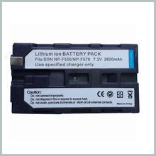 Camcorder Digital Camera 2600mAh NP-F550 Camcorder Battery for Sony NP-F330 NP-F530 NP-F570 NP-F730 NP-F750 Hi-8 camera parts