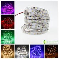 led strip white 5M 30W 300LED 3528SMD 1200-1400LM 6000-6500K DC12V LED lights decorative lights white  led strip