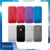 2014 New Arrival! S Style TPU Case for iPhone 6 Air 6G Protective Cover Case for iPhone 6 Case Free Shippng