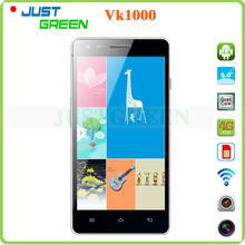Original VK1000 4G FDD LTE Smartphone MTK6582 MTK6290 Dual CPU Quad Core Android 4.4 5.0″ IPS 1GB RAM 4GB ROM 8MP Bluetooth GPS