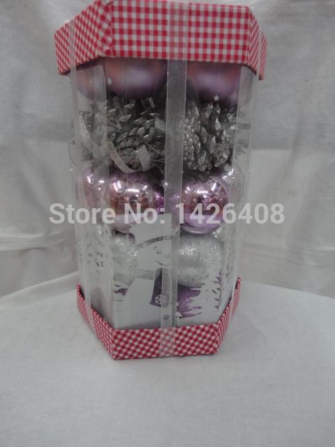 High quality Christmas balls,mixing multi balls,Christmas decorations(China (Mainland))