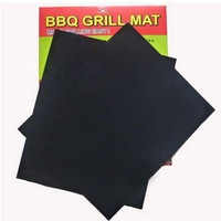Environmental Oven Grilling Cooking Hot Plate Sheet Barbecue Non Stick Grill Mat