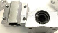 10pcs SC8UU SCS8UU 8mm Linear Ball Bearing Linear Motion Bearing Slide For CNC