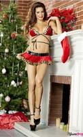 New Sexy Leopard Bikini Christmas loaded free shipping
