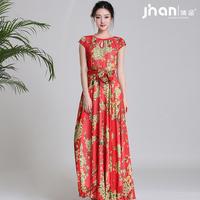 2014 women's gentlewomen elegant jonadab one-piece dress full dress xf-099