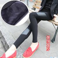 Women Pants Pantyhose Slim Leggings Thick Warm Winter Clothes Plus Velvet Free Shipping