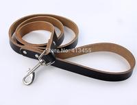 Wholesale 10pcs/lot mix colors Strong & Durable Pet Leashes Genuine Leather Dog leads (S/M)