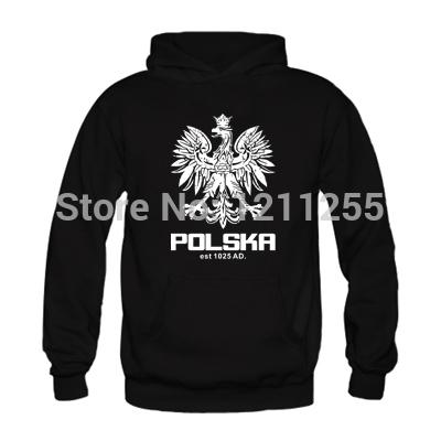 New Arrival Men/Women Hoodies Polska Polish Dance Soccer Poland Football Sweatshirt For Men Sport Suit Printed Custom Hoodies(China (Mainland))