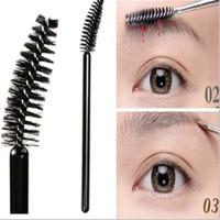 2015 Hot Sale Plastic Synthetic Hair Makeup Brushes Makeup Brush Set Pincel Maquiagem Wholesale Black Rod Special Brush Brows