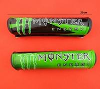 Monster model handle tube pad for dirt bike motor racing protection