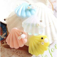 New Fashion Decorate with Beads Shell Hairpins Novelty Cute Hair Accessories For Women and Girls