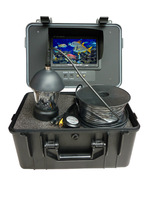 360 rotate underwater camera system with 7 inch Monitor ,20m ir led video underwater camera