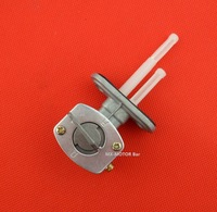 Free shipping fuel tank switch/robinet d'essence dirt/with rubber ring model, for ATV-Quads etc