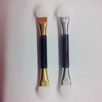 2015 Hot Sale Promotion Makeup Brushes Pinceis Maquiagem Kit De Pinceis De Maquiagen Wholesale To A Classic Double Sponge Brush